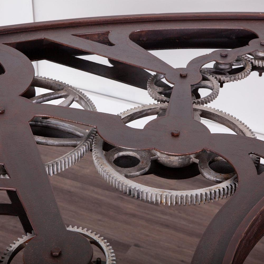 Jules Steampunk Gear Desk - World Interiors