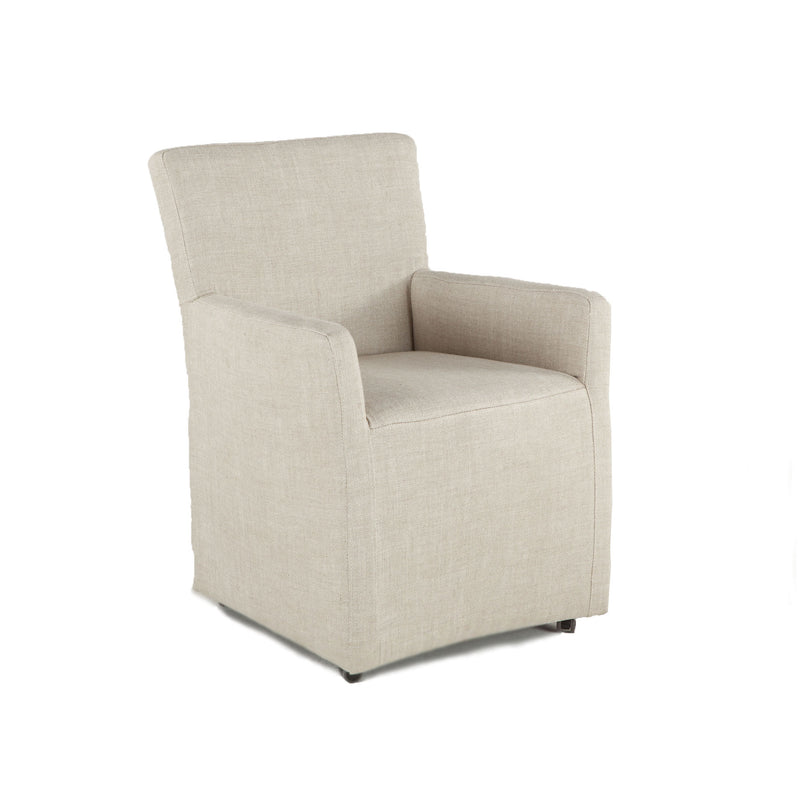 Lily Modern Rolling Dining Chair