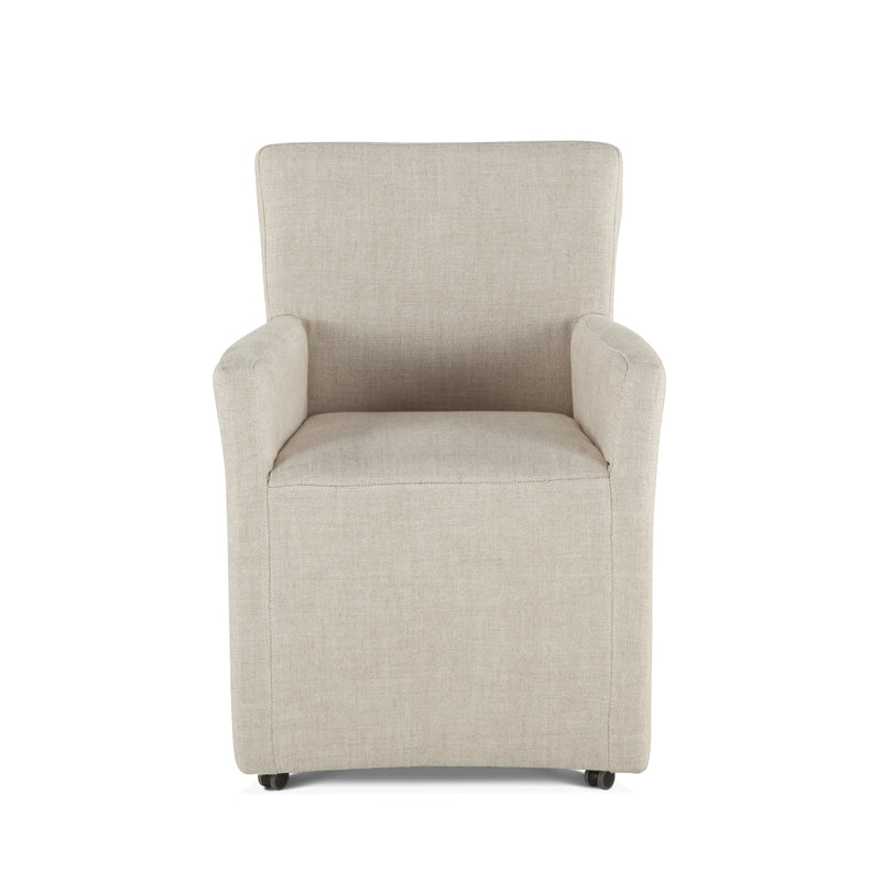 Lily Modern Rolling Arm Chair