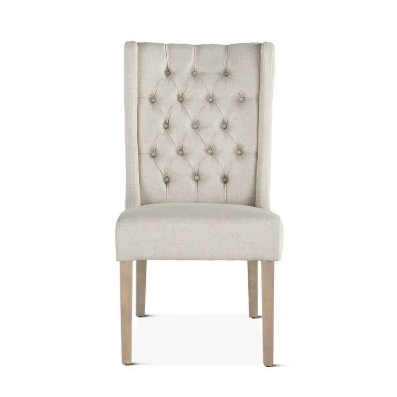 Chloe Contemporary Wing Dining Chairs, Multiple Colors