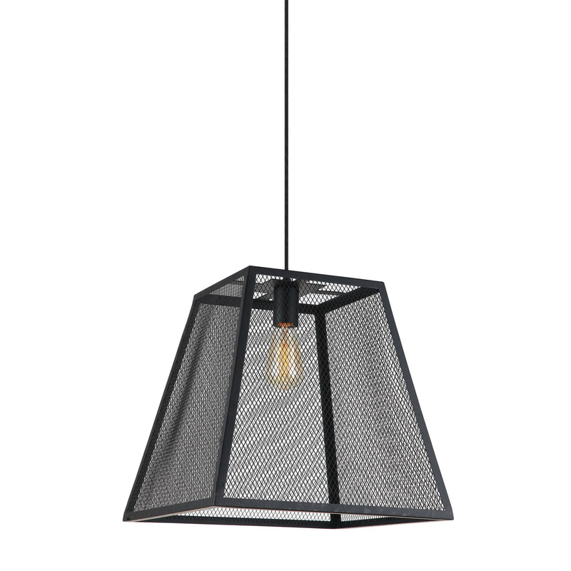 Element Industrial Mesh Hanging Pendant Light