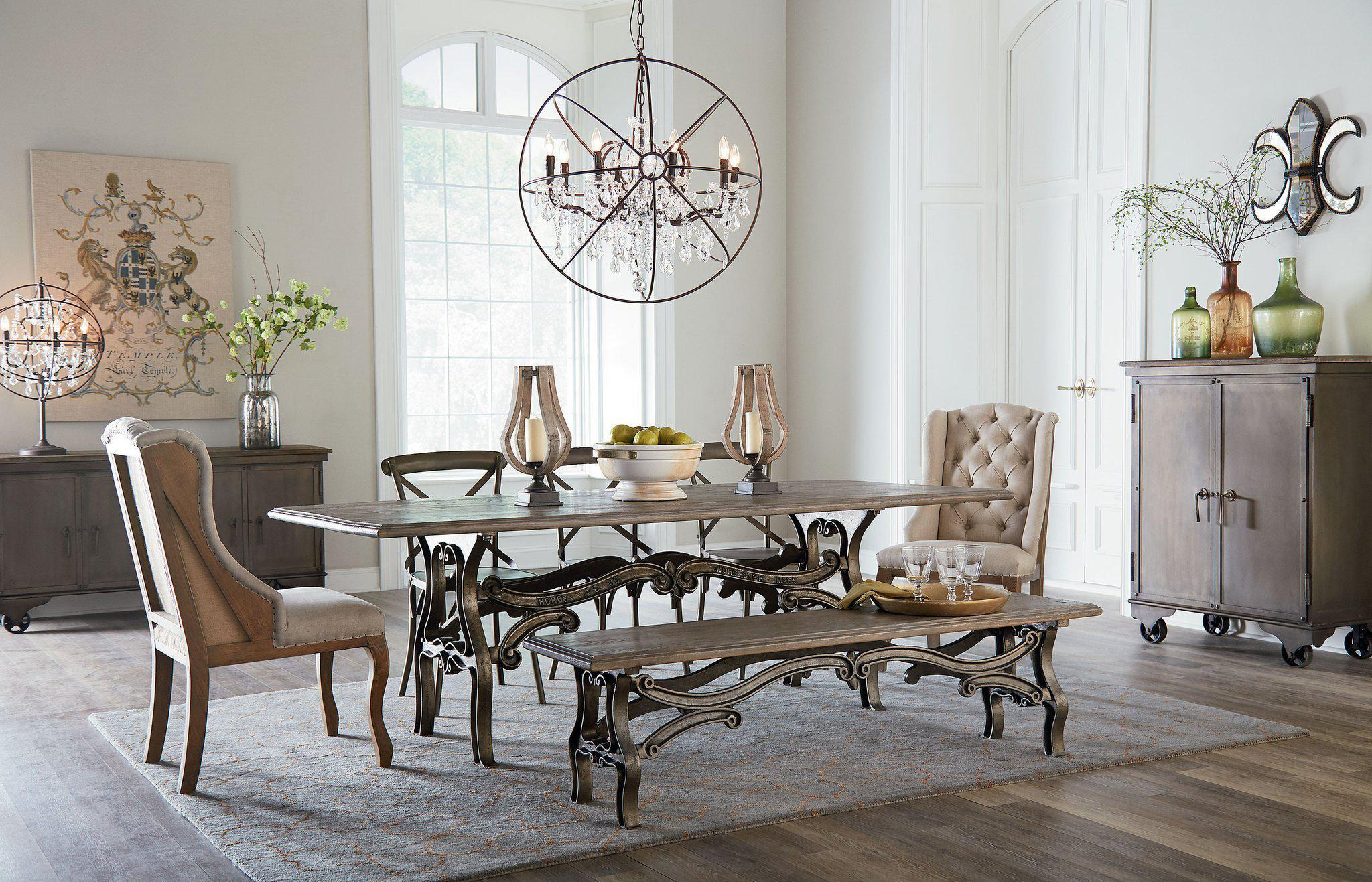 Anderson French Industrial Dining Table