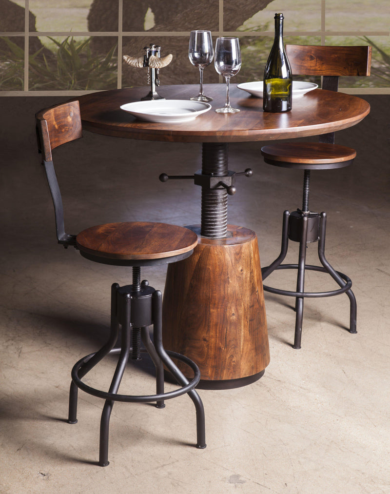Amici Modern Adjustable Bistro Table