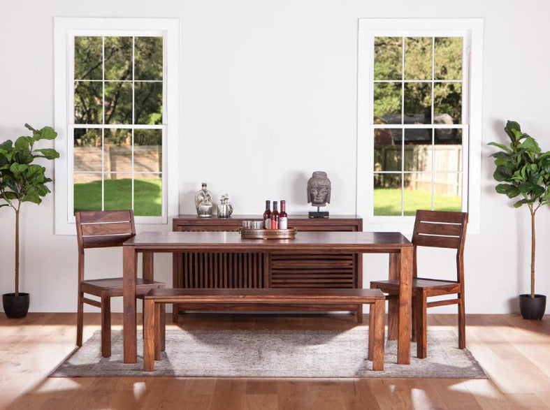 Lisbon Sheesham Wood Dining Collection