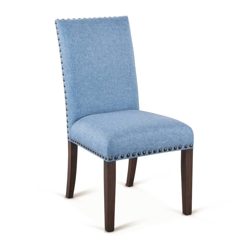 Bristol Linen Dining Chair with Studs