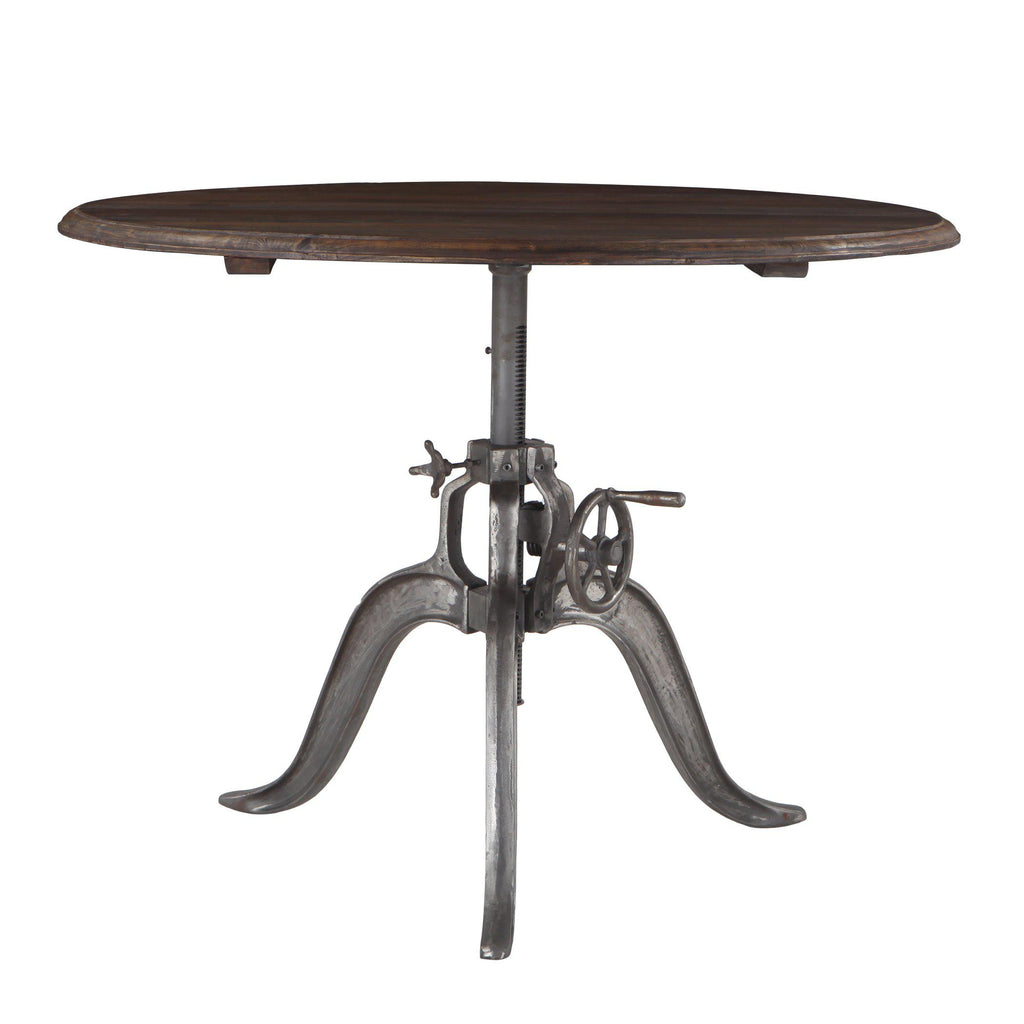 Picture of: Adjustable Crank Tables Adjustable Height Tables World Interiors