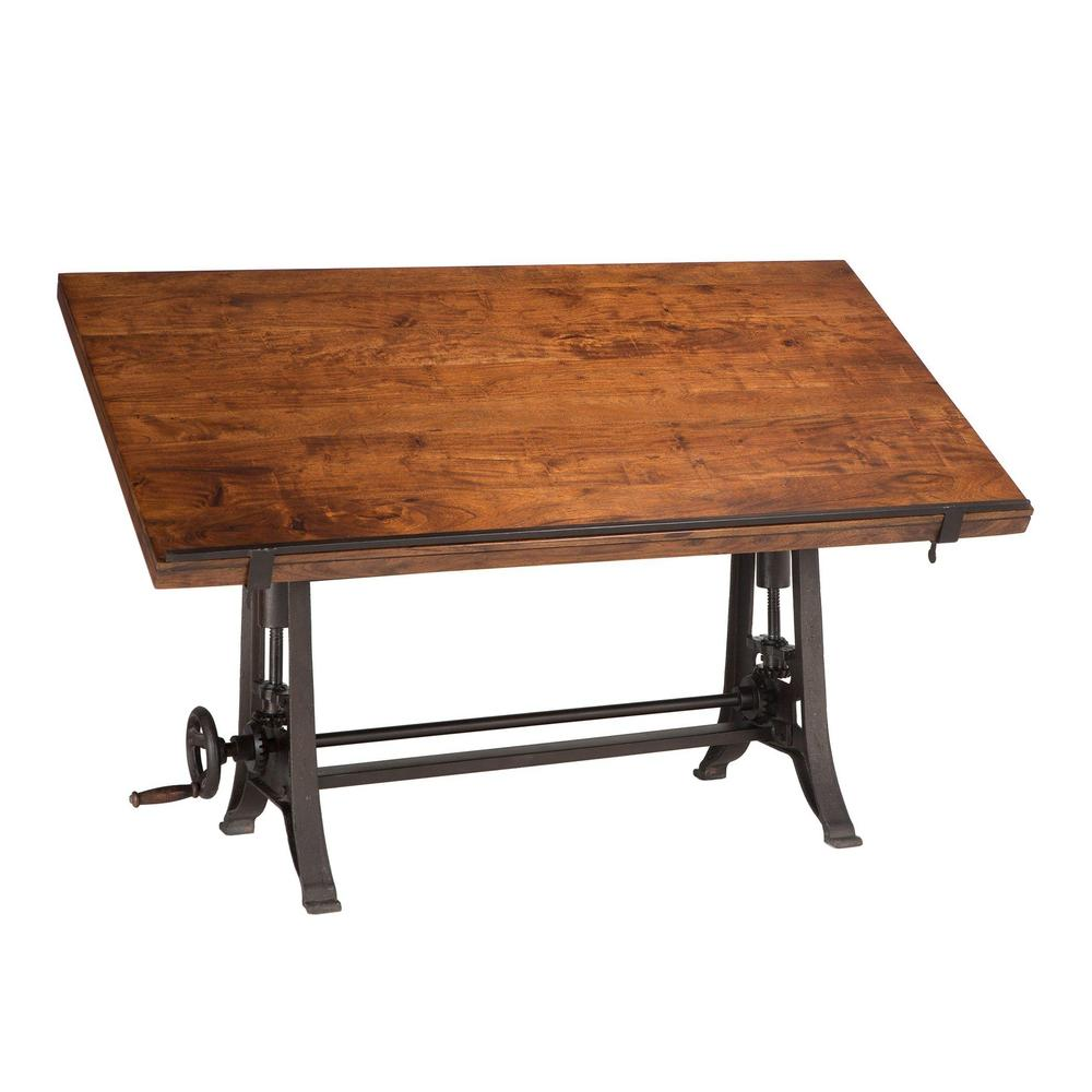 Artezia Industrial Modern Drafting Desk