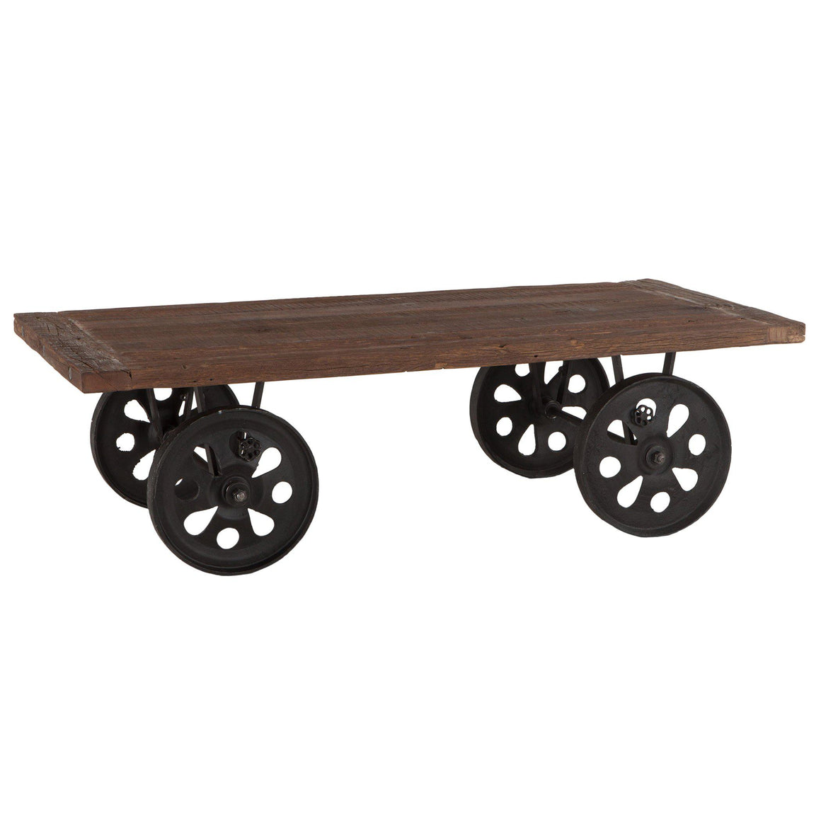 Artezia Farmhouse Industrial Coffee Table