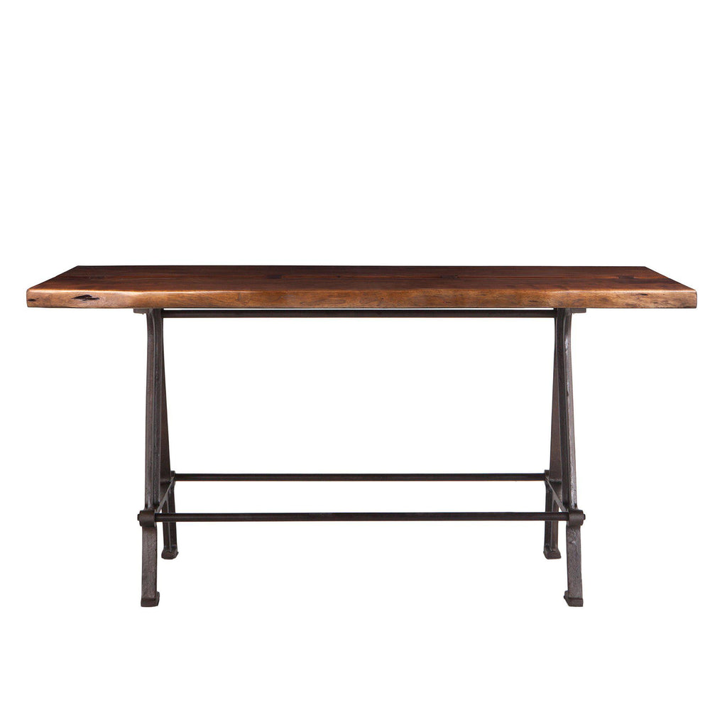 Artezia 72-Inch Acacia Wood Live Edge Gathering Table