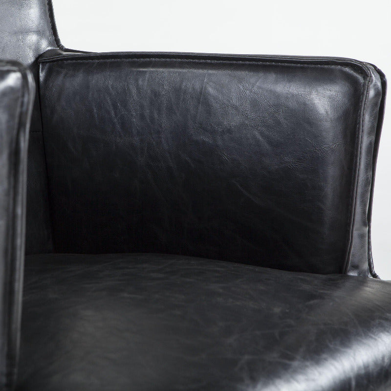 Avery Modern Leather Arm Chair