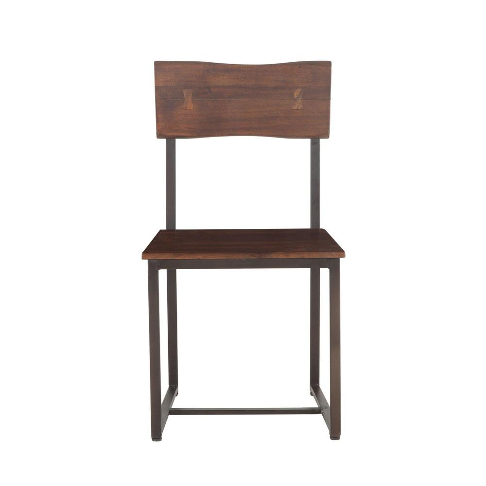 Belfrie Modern Live Edge Dining Chair