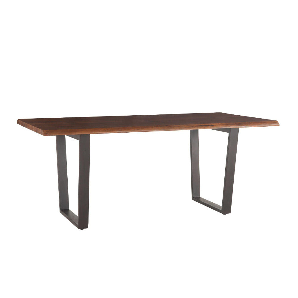 Belfrie Modern Live Edge Dining Table