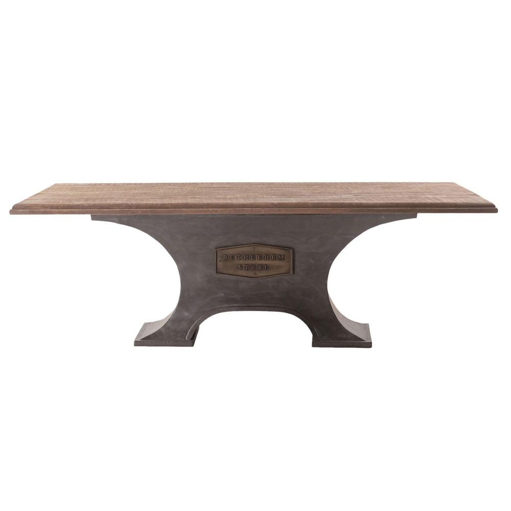 Behtlehem Industrial Modern Dining Table
