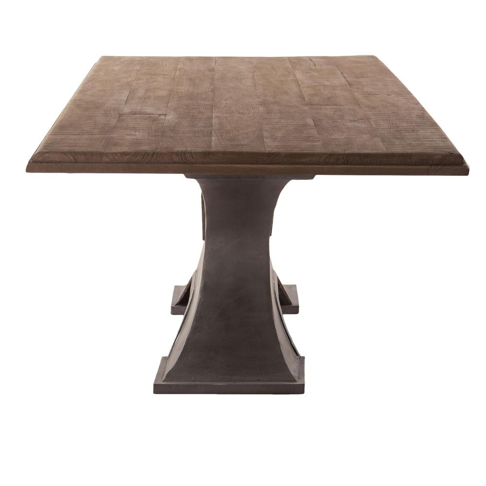 Industrial Modern Dining Room Table: Bethlehem Industrial Modern Dining Table