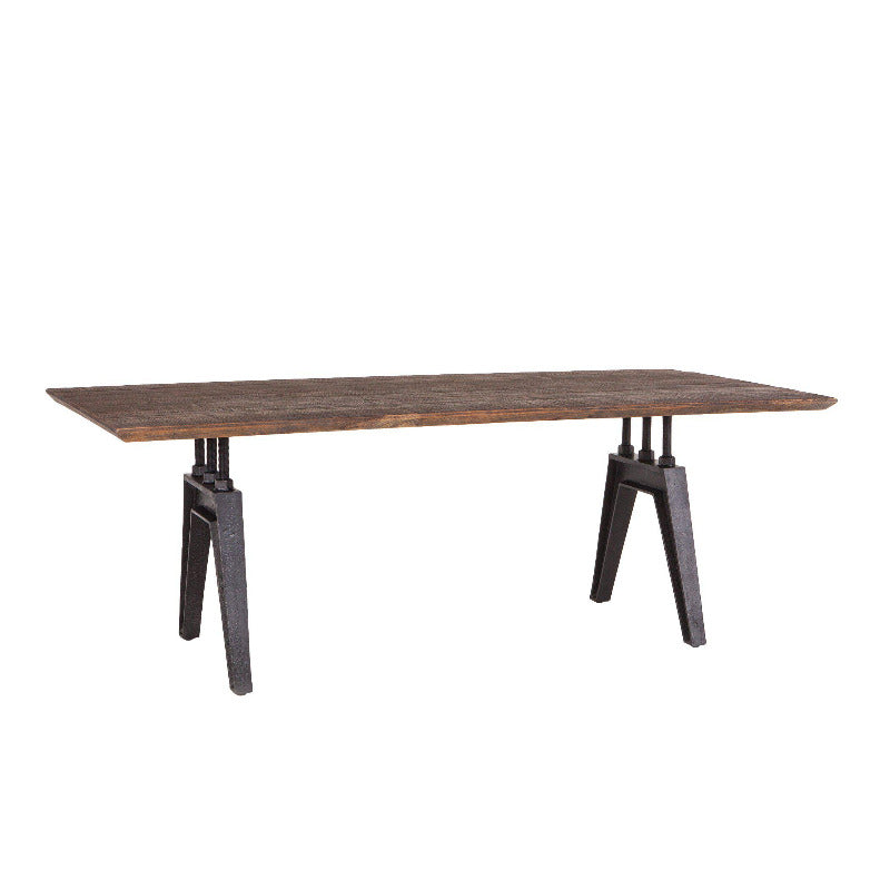 Super Dakota 84 Inch Rectangle Dining Table Gmtry Best Dining Table And Chair Ideas Images Gmtryco
