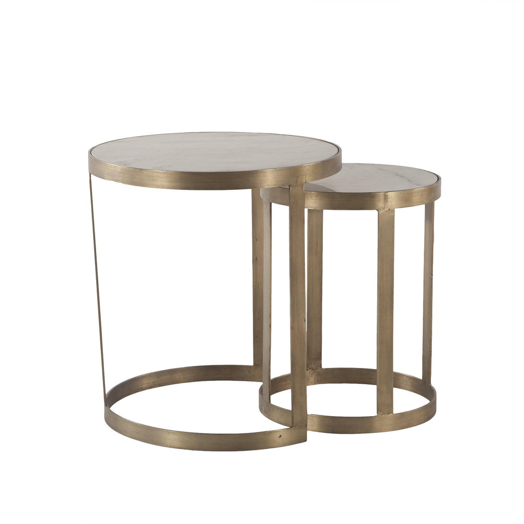Leonardo Modern Nesting Side Table