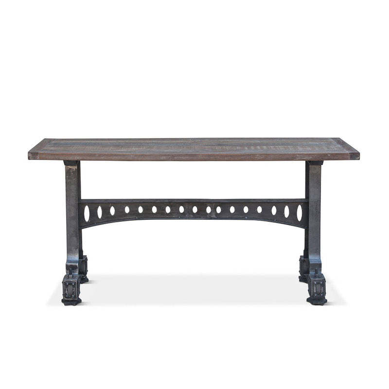 Sterling 66-Inch Cast Iron Console Table