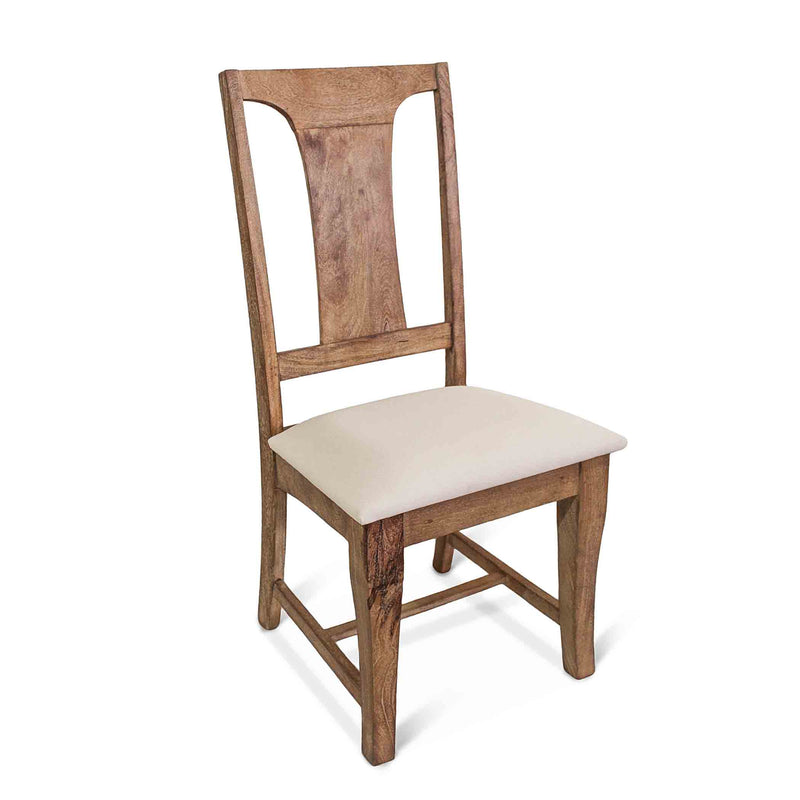 Pengrove Farmhouse Upholstered Dining Chairs, Set of 2