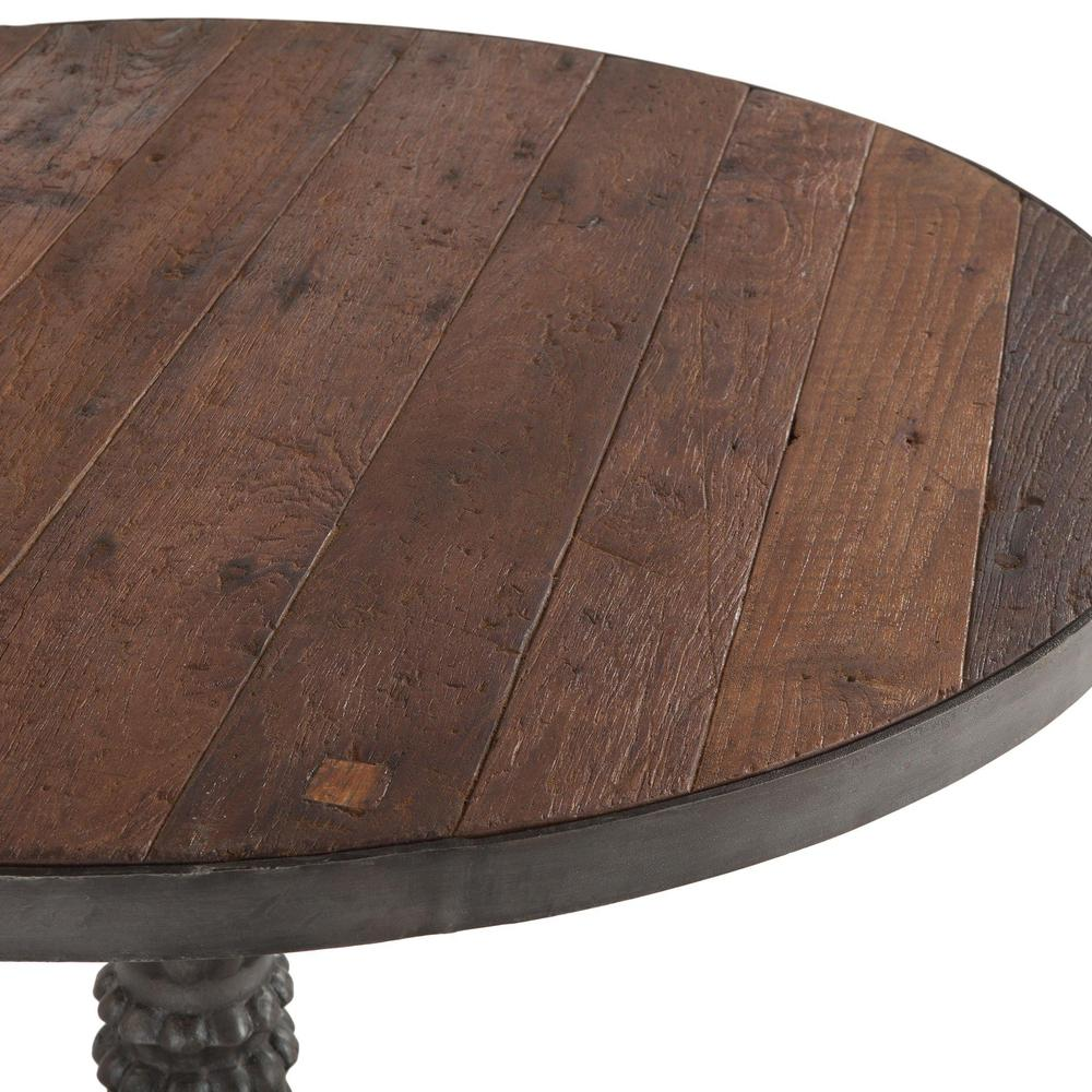 Paxton Rustic Industrial Bistro Table
