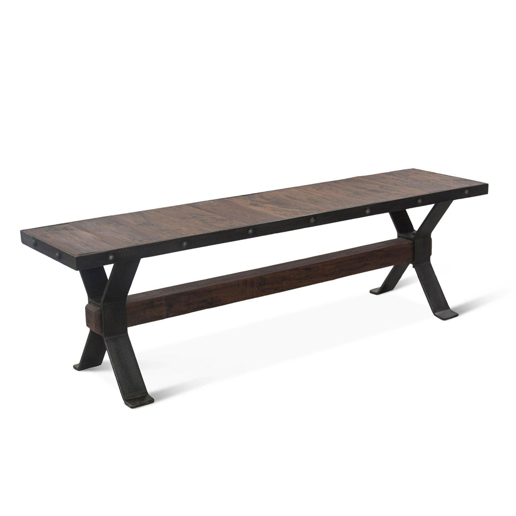 Paxton Reclaimed Teak Dining Bench
