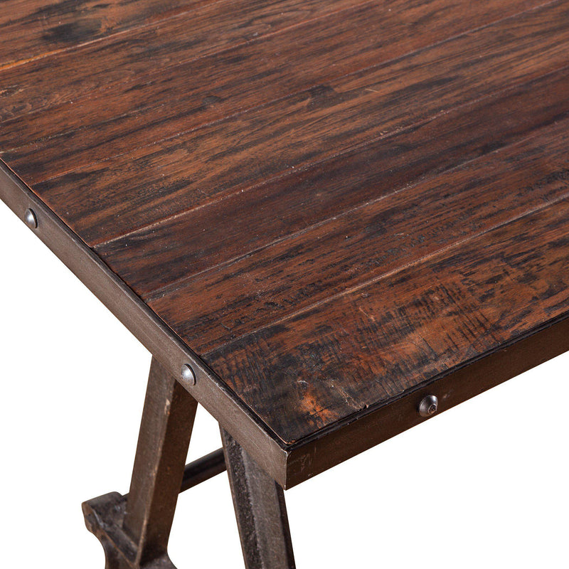 Paxton Reclaimed Teak Gathering Table