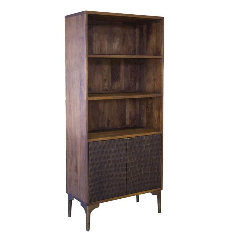 Vallarta Tall Two Tone Mango Wood Bookshelf