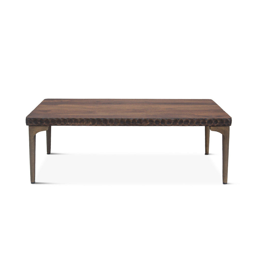 Vallarta 48-Inch Two Tone Mango Wood Coffee Table