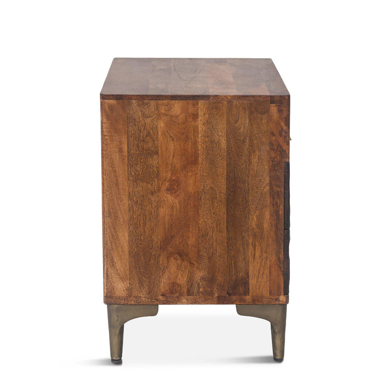 Vallarta Two Tone Mango Wood Night Chest