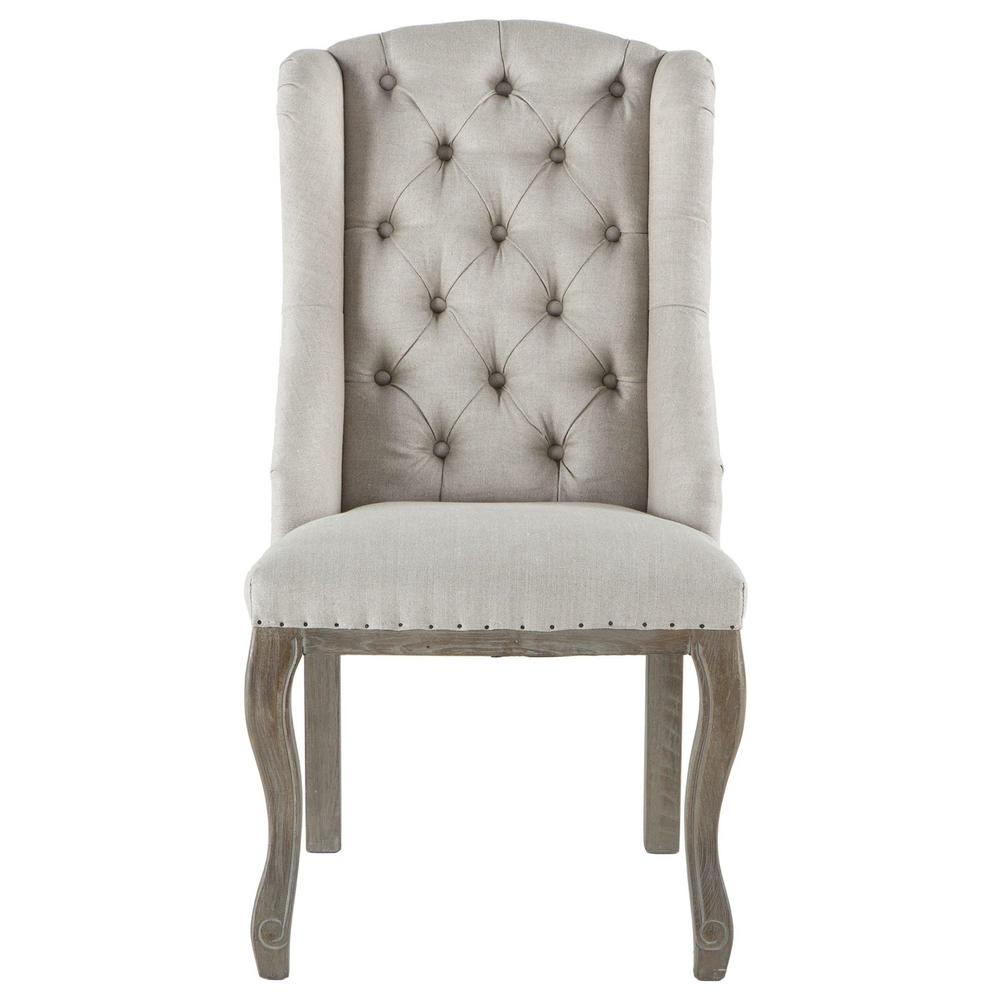 Portia Wing Back French Dining Chair