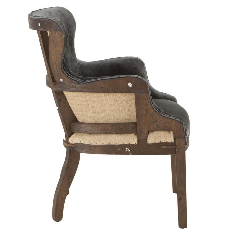 Charles Modern Velvet Club Chair