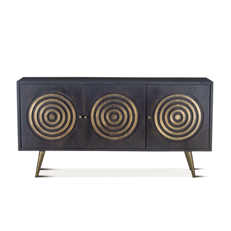 Nubian Ebony Mango Wood Sideboard