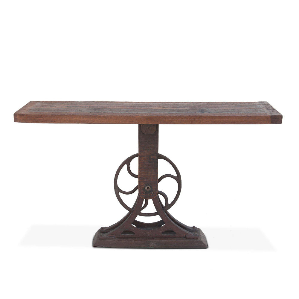 Sterling 56-Inch Cast Iron Console Table