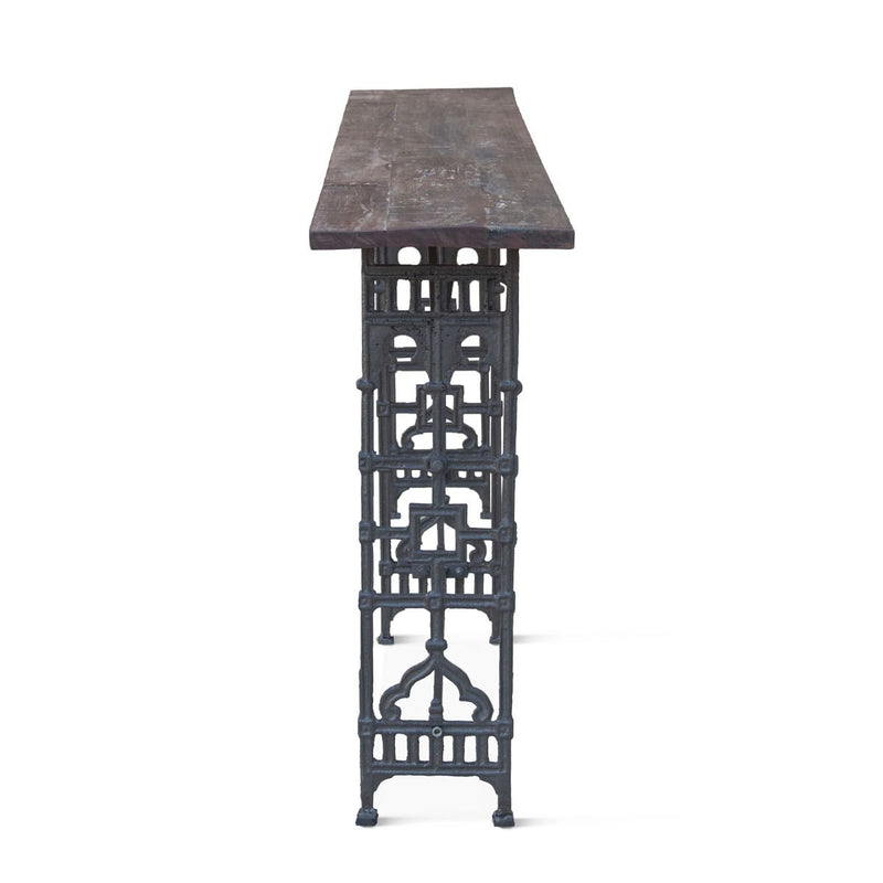 Clementine Old World Trestle Console