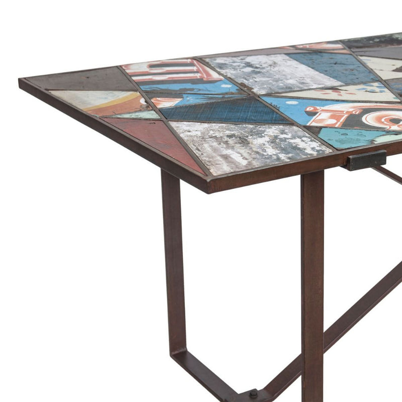 Sterling Modern Panel Dining Table
