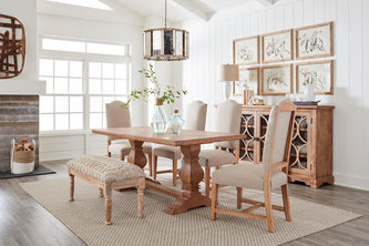 Pengrove dining collection and Algiers bench