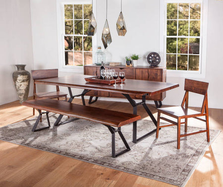 Acacia Wood Table - Nottingham Live Edge Collection