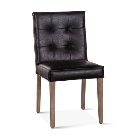 Vegan Leather Dining Chair - Avery - World Interiors