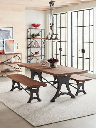 Blayne Dining Table and bences