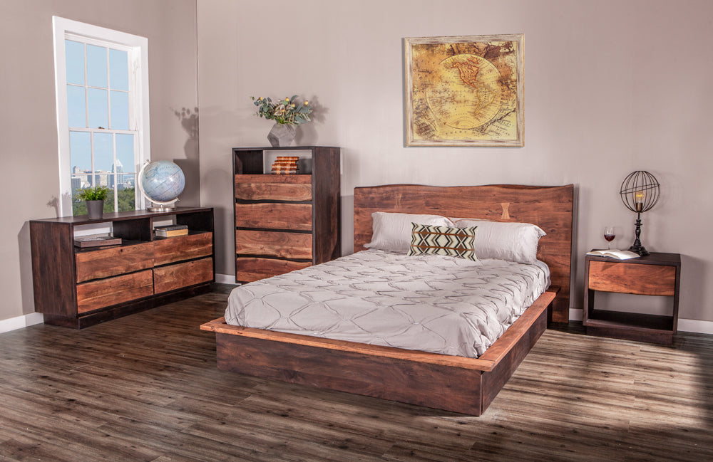 Palermo Rustic Modern Bedroom Collection