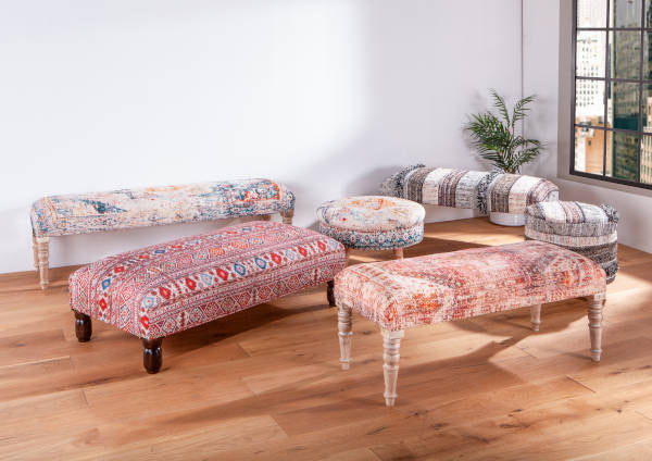 Algiers Collection of benches and stools