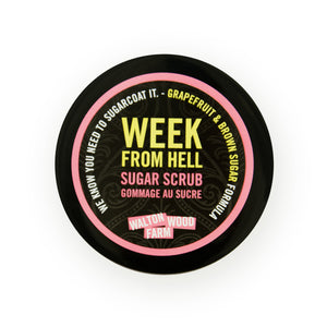 Week From Hell Sugar Scrub
