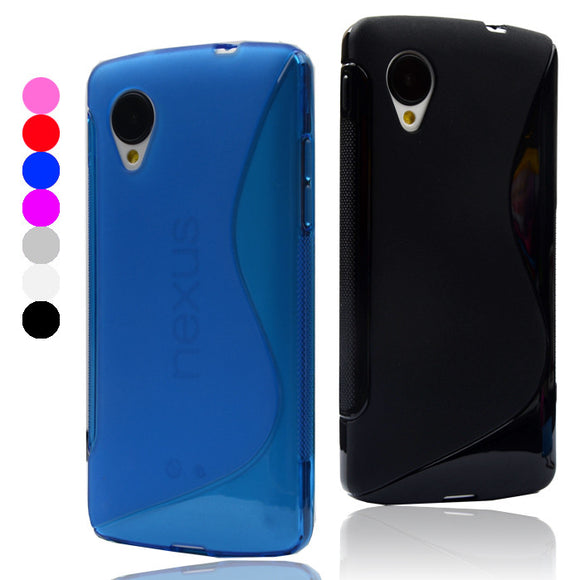 Nexus 5 Soft Gel Case