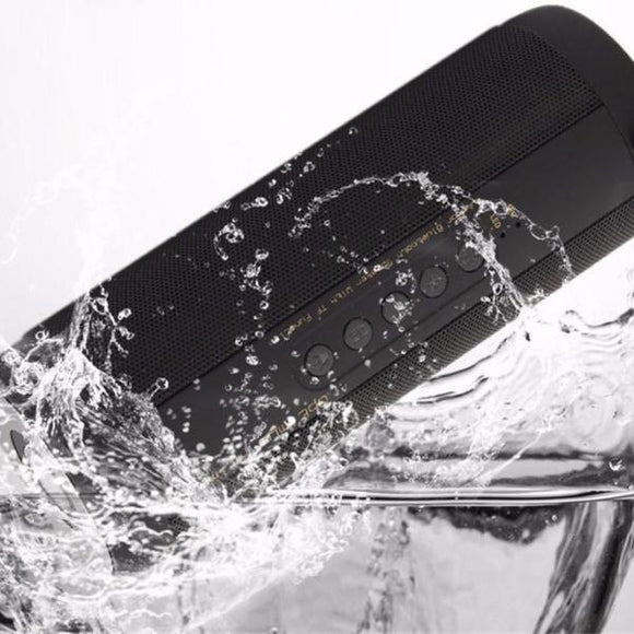 Rugged Waterproof Bluetooth Speaker