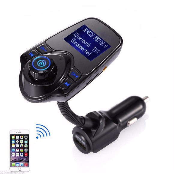 Bluetooth Hands-Free Multi-Function FM Transmitter