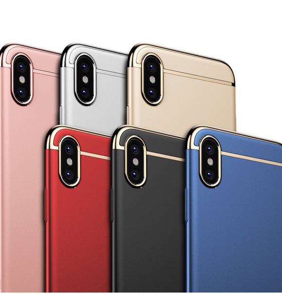 iPhone X Luxury Trim Case