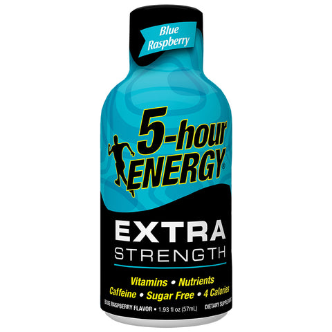 Blue Raspberry - Extra Strength<br>12-Pack