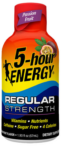 Passion Fruit Regular Strength 5-hour ENERGY® Shot 12-Pack
