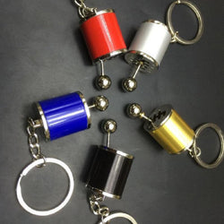 Fidget Gear Shift Key Chain