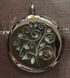 AromaTherapy Blossoms of Essential Oil Pendant & Necklace