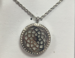 AromaTherapy Bling to Spare - Essential Oil Diffuser Pendant